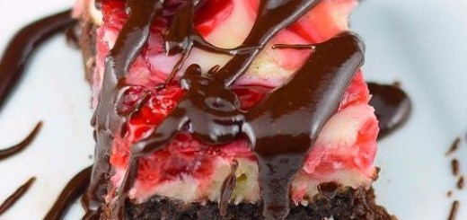 Black Forest Cheesecake Brownies