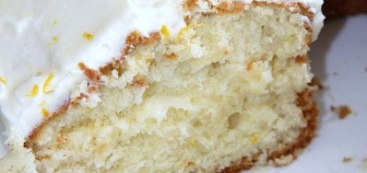 Orange Honey Sponge Cake