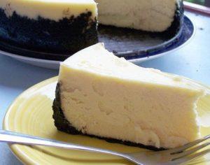 Tuxedo Cheesecake