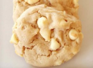 White Chocolate and Pecan Cookies