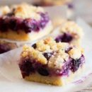 Blueberry-Lemon Cheesecake Bars
