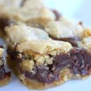 Chocolate Peanut Butter Crumble Bars