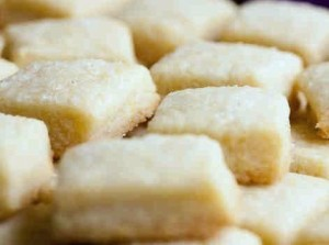 Lemon Oat Shortbread Cookies