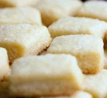 Lemon Oat Shortbread Cookies