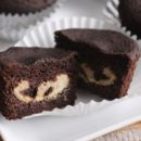 Cheesecake-Filled Chocolate Cupcakes