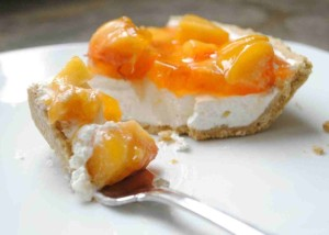 Peaches & Cream Cheese Pie