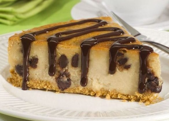 Peanut Butter Chocolate Chip Cheesecake