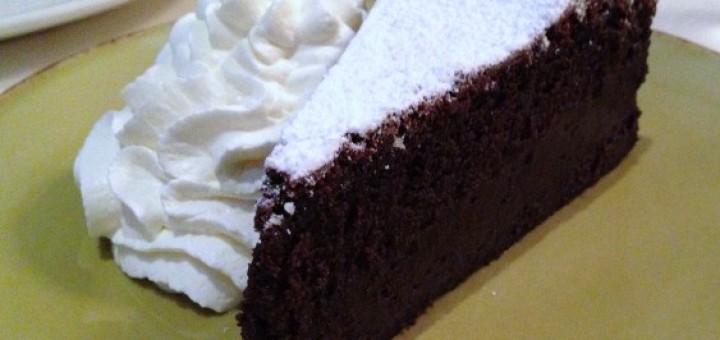 Another Flourless Chocolate Cake