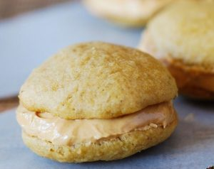 Banana Peanut Butter Sandwich Cookies