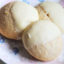 White Chocolate-Dipped Lemon Cookies