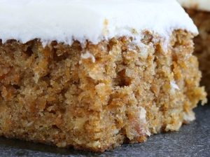 Prune Cake with Cream Cheese Frosting