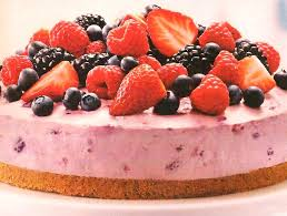 Mixed Berries Cheesecake Recipe