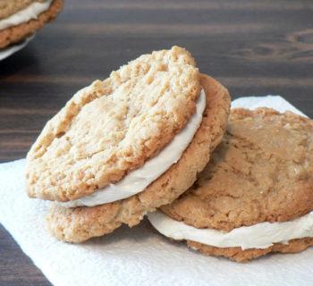 Oatmeal Marshmallow Sandwich Cookies Recipe