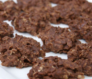 No Bake Coconut-Oats-Nutella Cookies