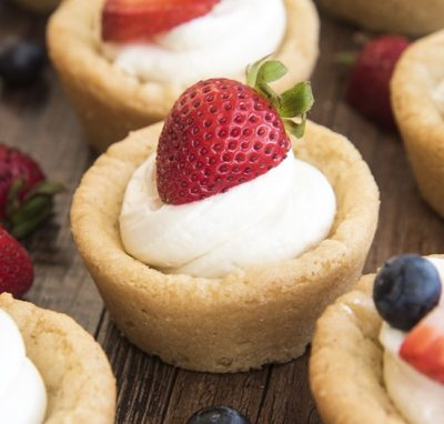 Berry Cheesecake Cookies