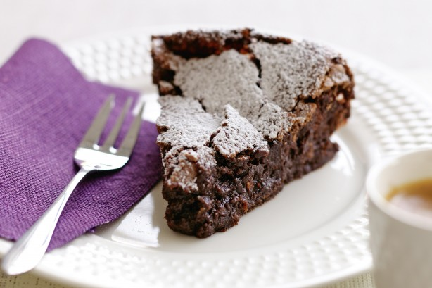 Flourless Chocolate-Almond Torte